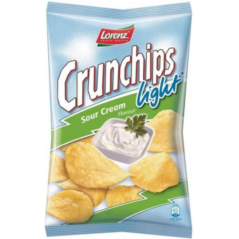 Chips Crème Fraiche Light Crunchips 90g