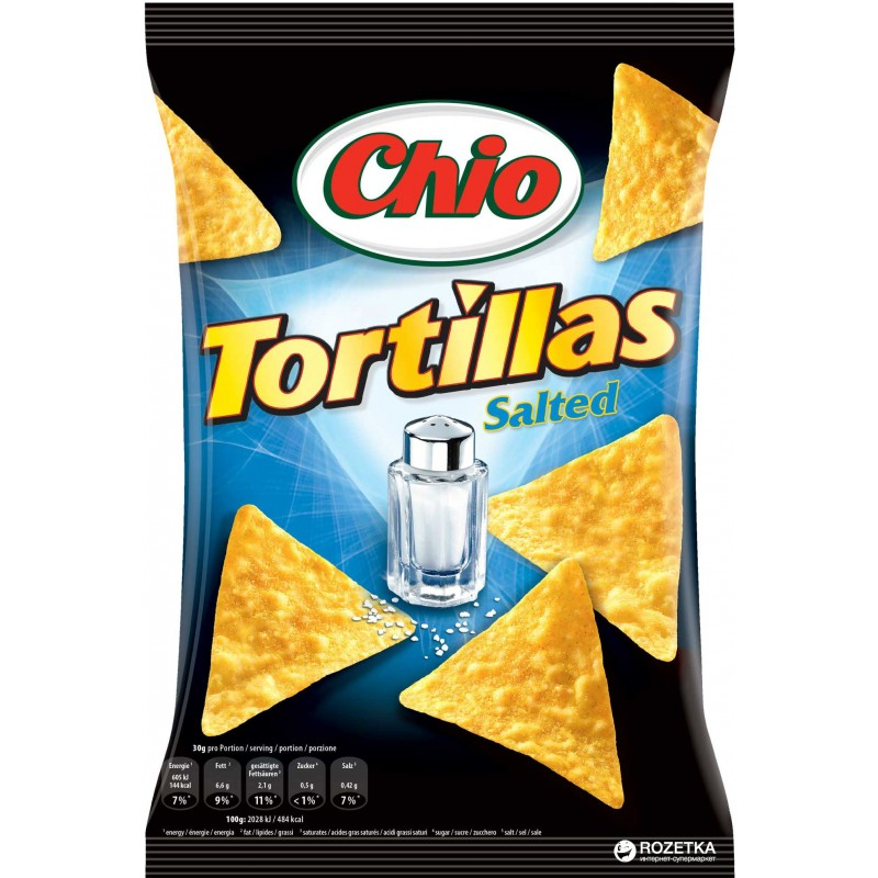 Tortilla Original Chio 125g