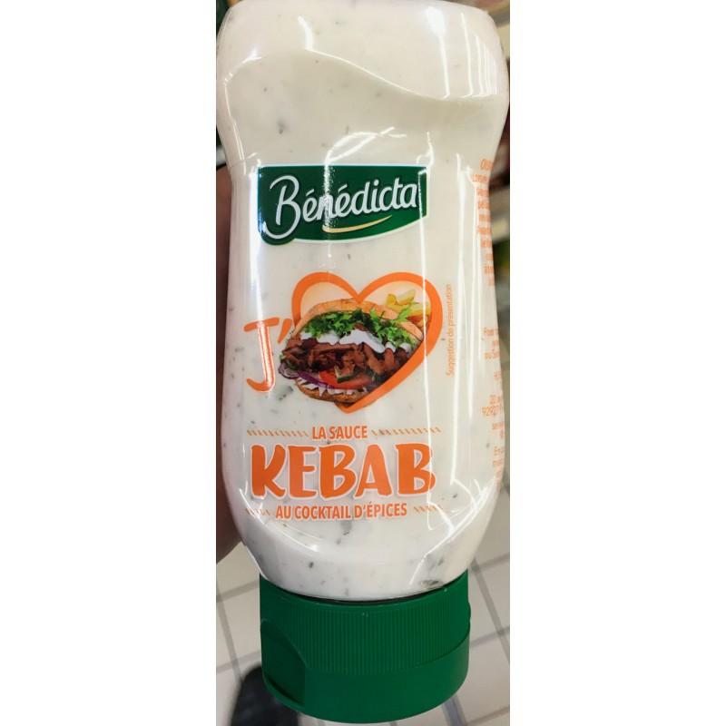 Sauce Kebab Bénedicta 245 G