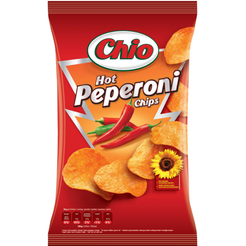 Chips au Peperoni Chio 90g
