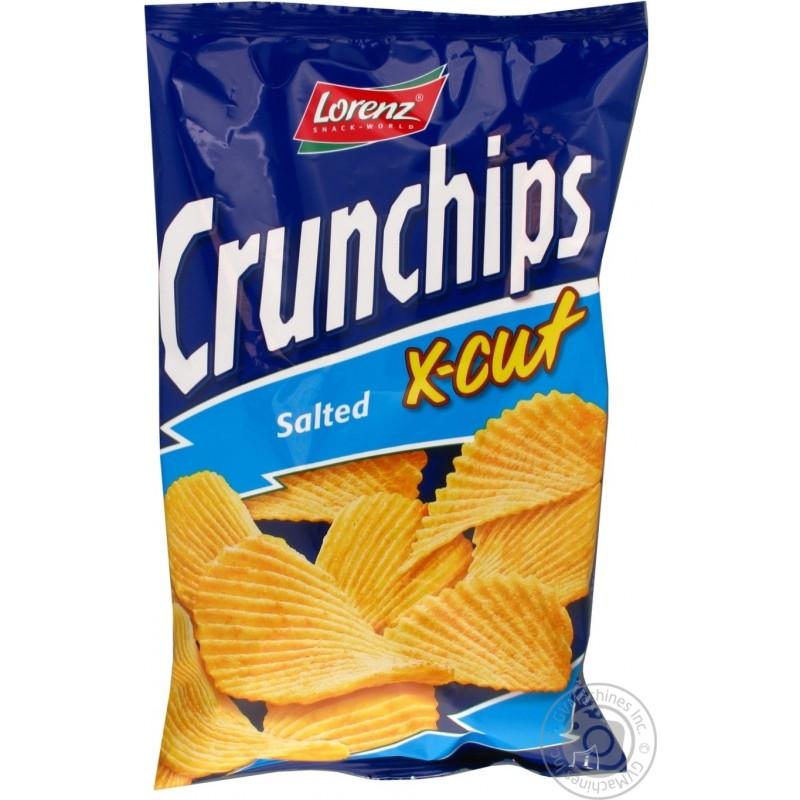 Chips Salé X-Cut Crunchips 150g