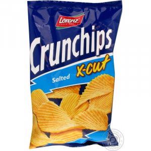 Chips Salé X-Cut Crunchips 150g