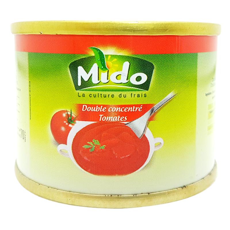 Double Concentré De Tomates Mido 70g