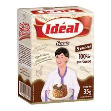 Idéal Cacao 5 sachet 100% pur cacao