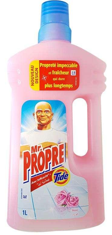 Nettoyant de Surfaces Roses Mr Propre 1l