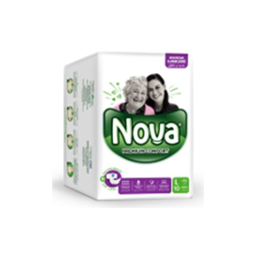 Nova Premium Care Couches Adultes pour les hommes & les femmes - Taille Large - 10 unités