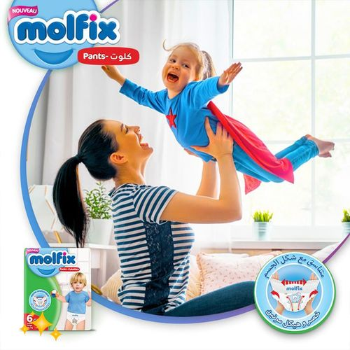 Molfix Couches culottes Taille 6 x 22