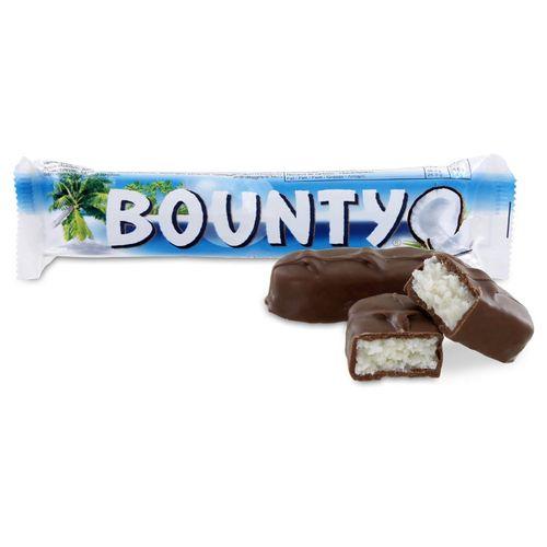 Bounty Barres Chocolat Coco 57G