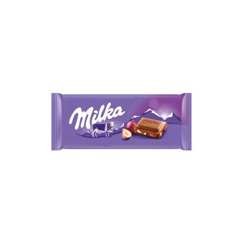 Milka Tablette Chocolat Lait Raisins 100G