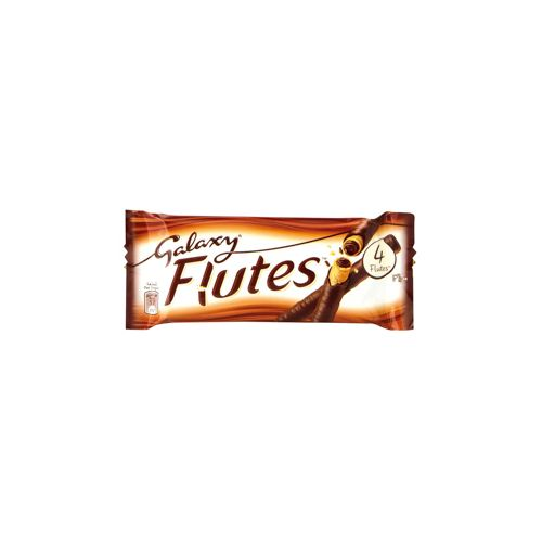 Galaxy Barres Chocolat Flutes 45G X4