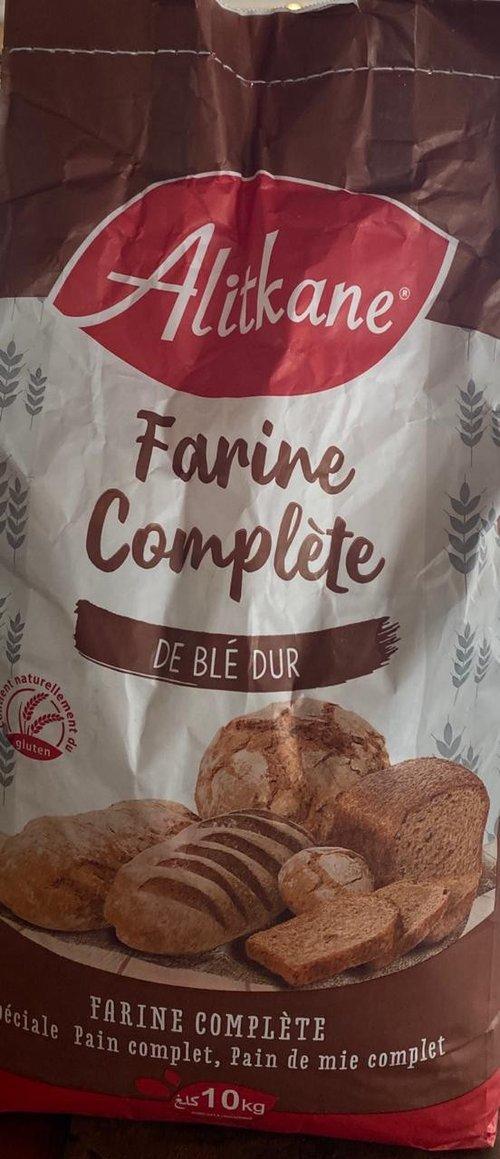 Farine Complète de Blé Dur Al Itkane 10kg