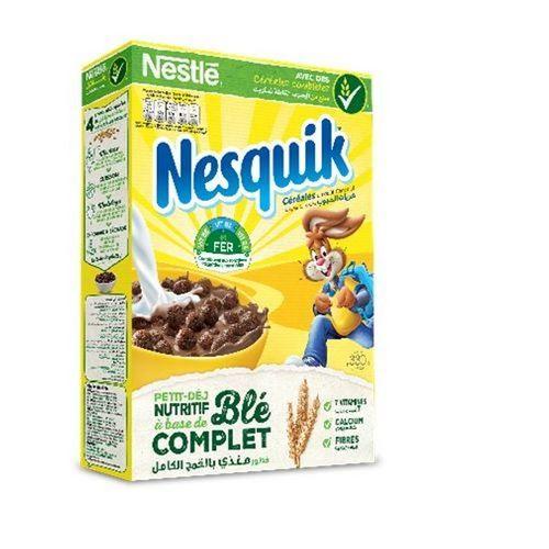 Nestle Nesquik céréales gout chocolat paquet de 330g