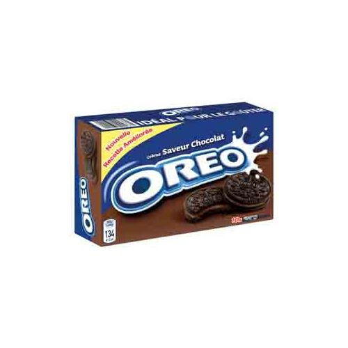 Oreo Pack Biscuits Fourrés Chocolat 57G X10