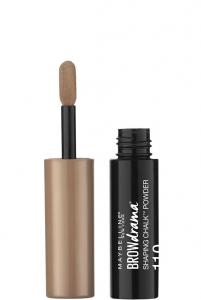maybelline new york browdrama shaping chalk eyebrow powder