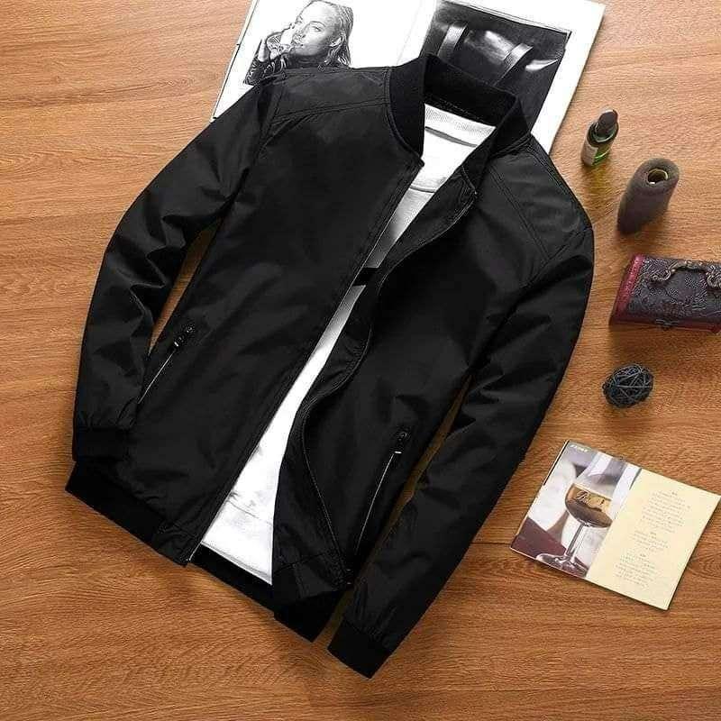 Jacket Demi-saison Luis, Noir, XL