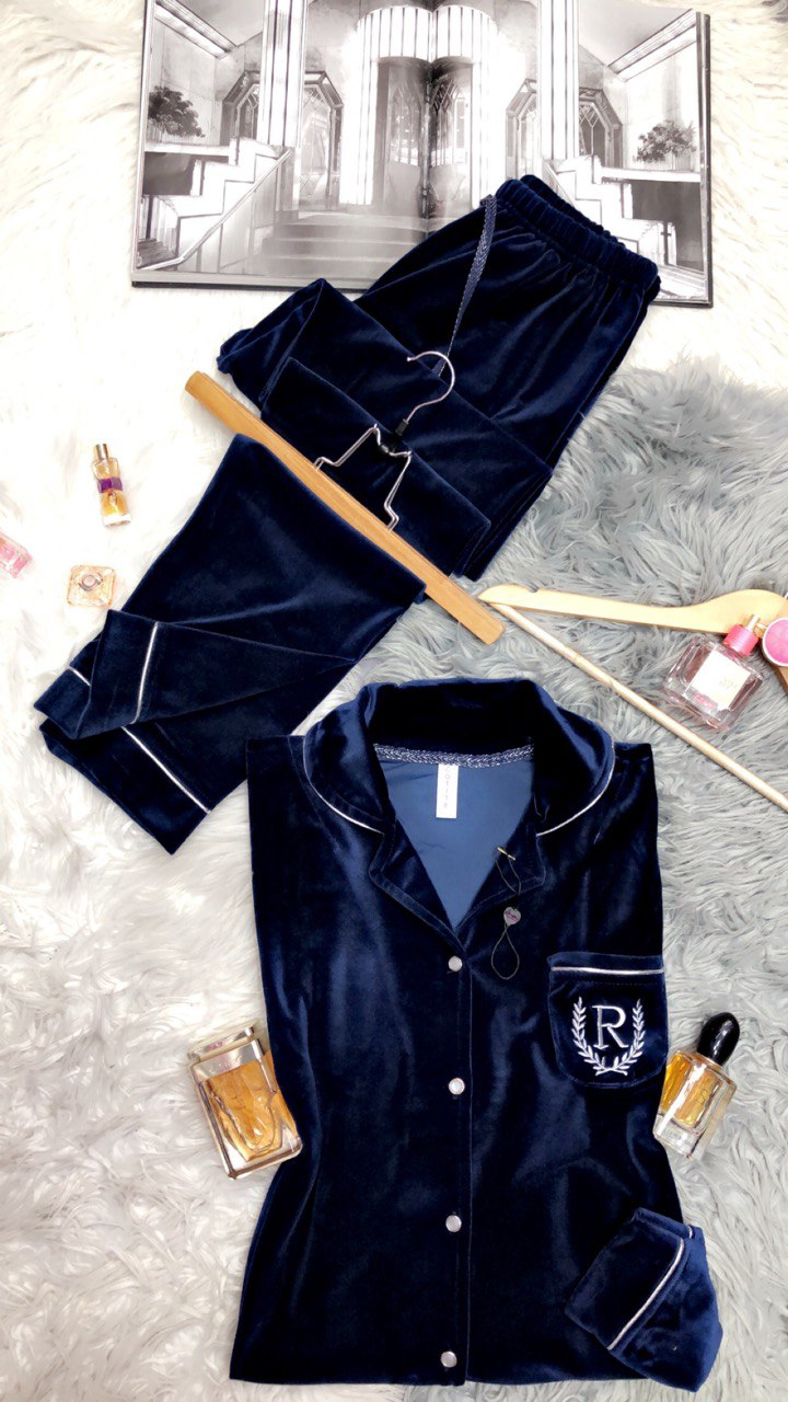 Pyjama Princesse, Bleu foncé, Standard