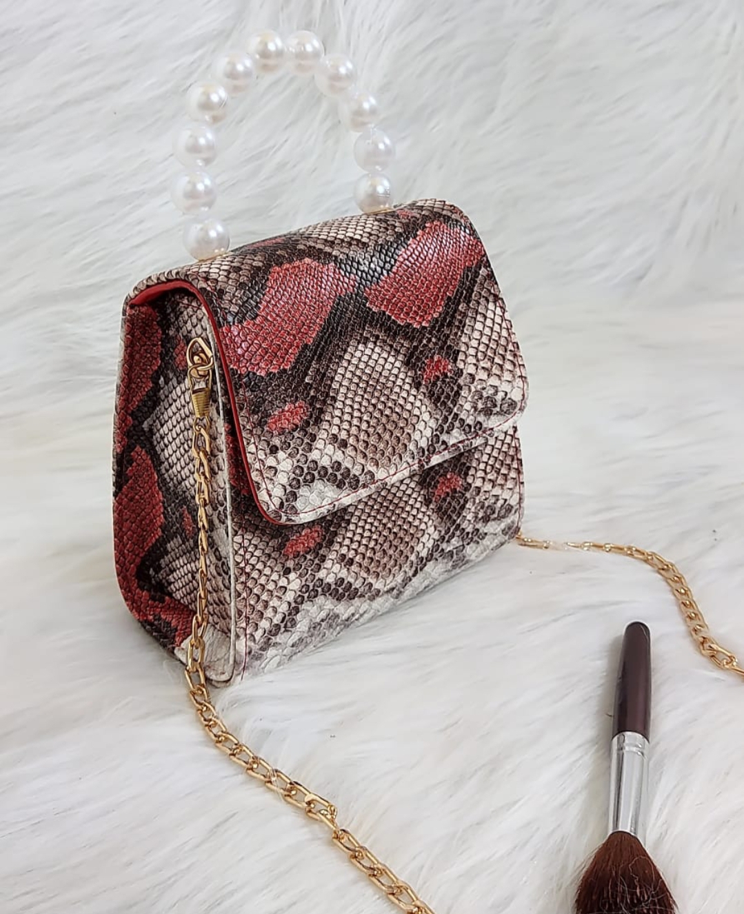 Sac Dina, Croco rouge