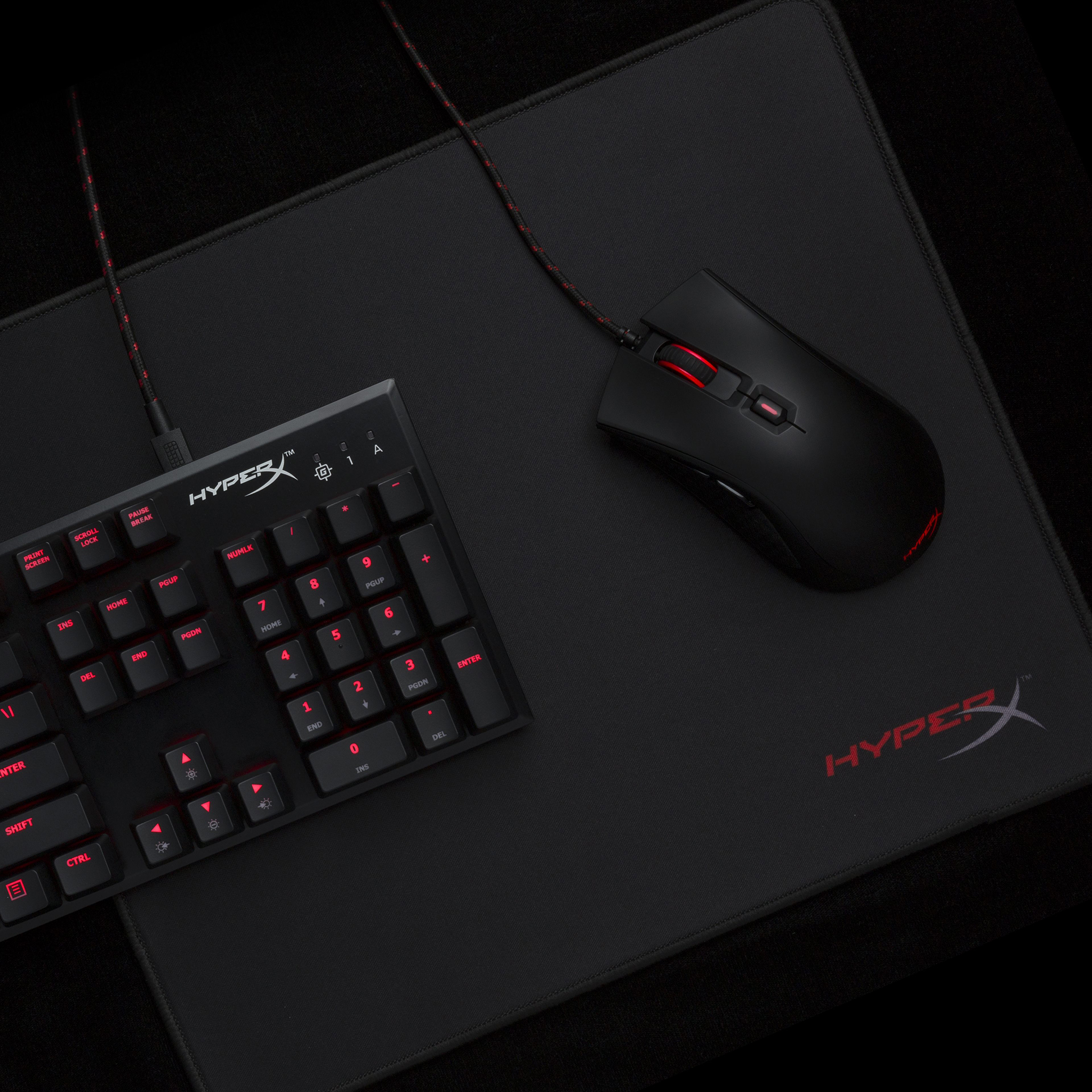 HyperX Fury S Pro Speed Edition - Tapis de souris Gaming taille M (36cm x 30cm)