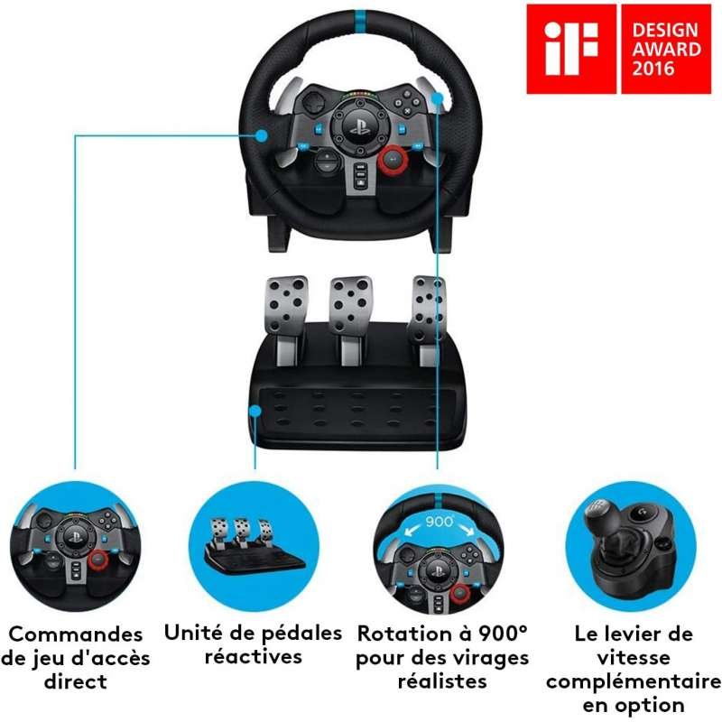 G29 Driving force PS3/PS4/PC