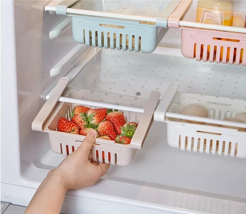 Organisateurs de réfrigérateur, Blanc