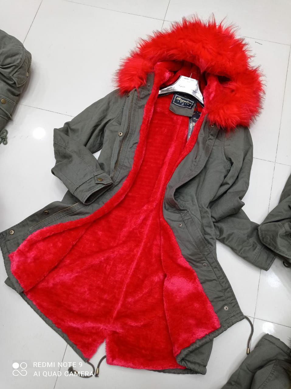 Jacket Dominas, Rouge, M