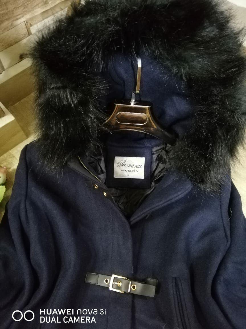 Manteau Chloa, Bleu, XXL
