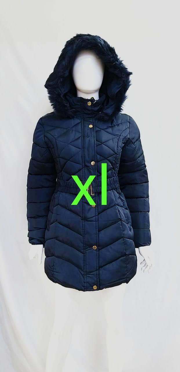 Jacket doudoune femme Matekha, Bleu marine, XL